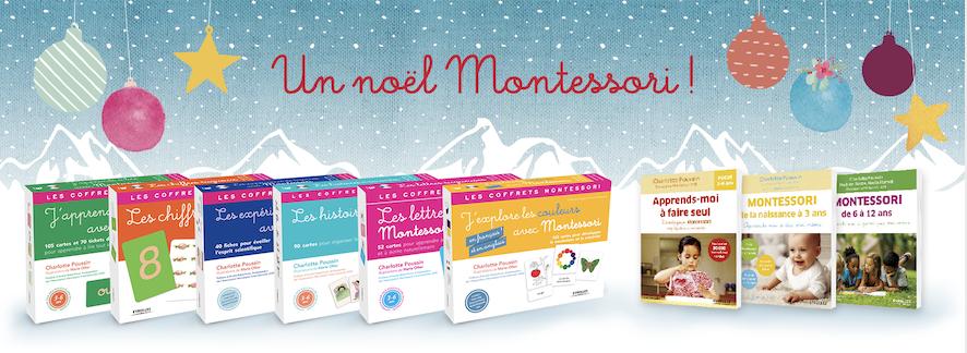 Les Ouvrages Montessori pour les grands et les petits avec Charlotte Poussin